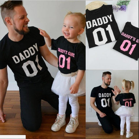 Father and Daughter Matching Tshirts
