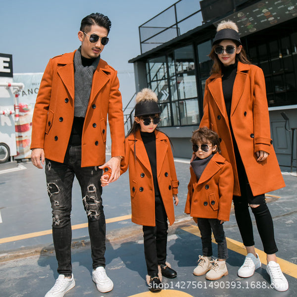 Matching Family Coats