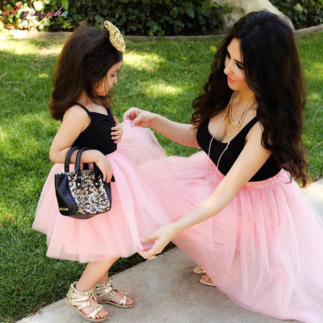 Mother Daughter Matching Tutu Dress