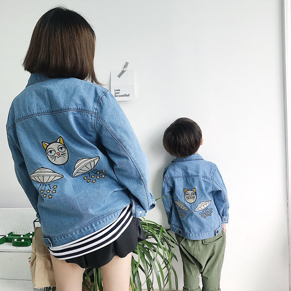 Mother Son Jackets Boys Denim