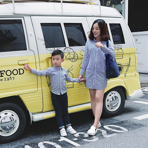 Matching Mother Son Blouse/Dress