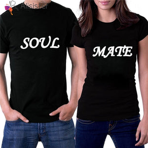SOUL MATE Matching Couple Tshirts