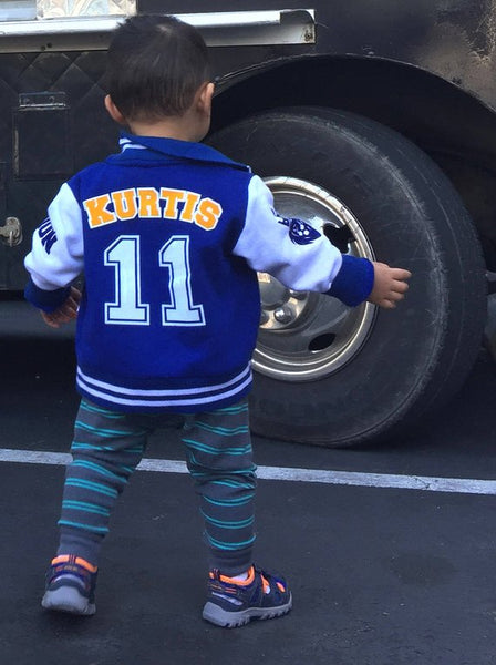 Matching Family Personalized Varsity Jackets