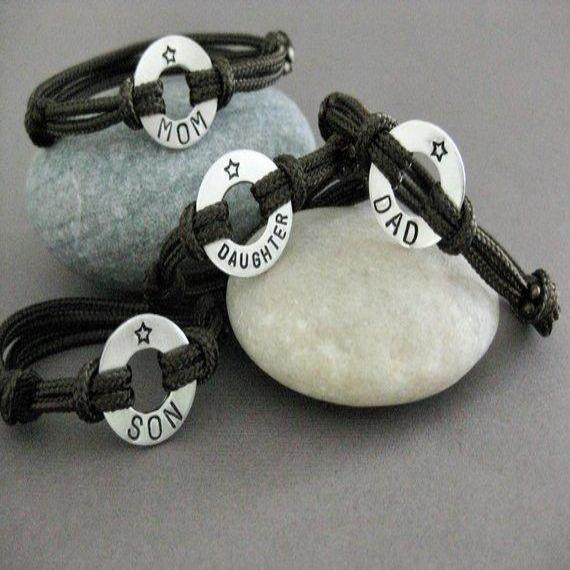 Family Bracelet SET(SET OF 4)