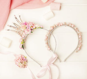 Matching Headband Mother Daughter Crown
