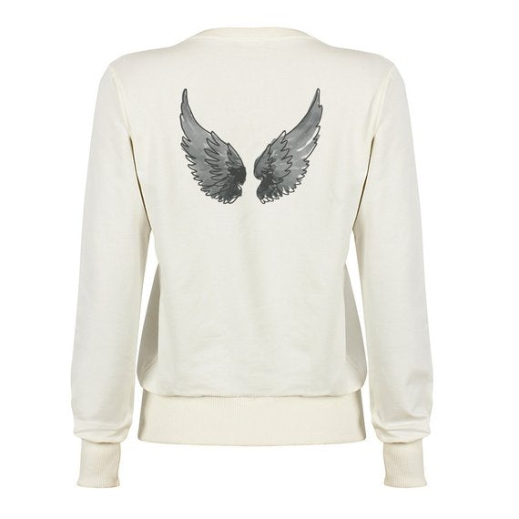 Angel Wings Sweater Father Mother Son Daughter