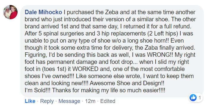 Zeba Shoes Hands Free Best