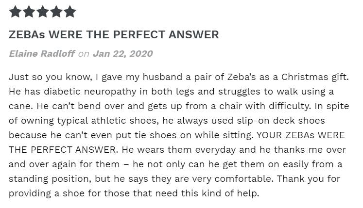 Zeba Shoes Review