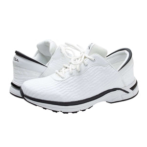White Zeba Shoes Product Image Both Shoes