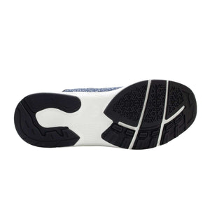 Midnight Blue Zeba Shoes Product Image Bottom Soles