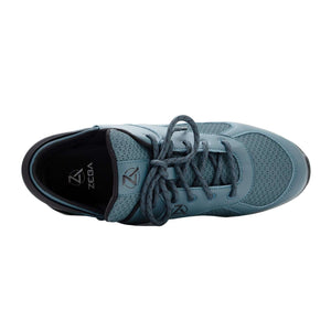 Ocean Teal Zeba Shoes Product Image Top
