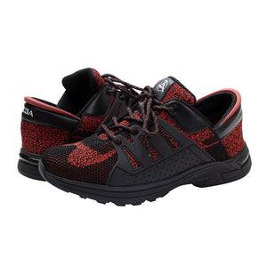 Obsidian Red Zeba Shoes Product Image Both Shoes