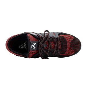 Obsidian Red Zeba Shoes Product Image Top