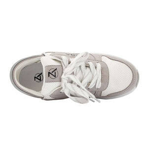 White Sand Zeba Shoes Product Image Top Laces