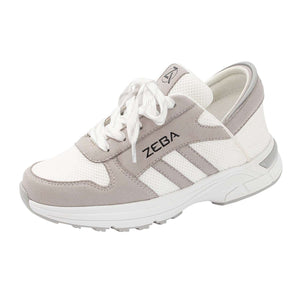 White Sand Zeba Shoes Product Image Front Angle