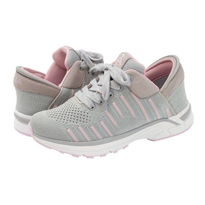 Rose Gray Zeba Shoes Product Image Both Shoes