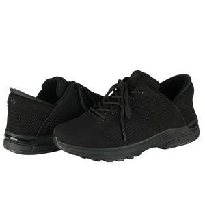 Jet Black Zeba Product Image Both Shoes