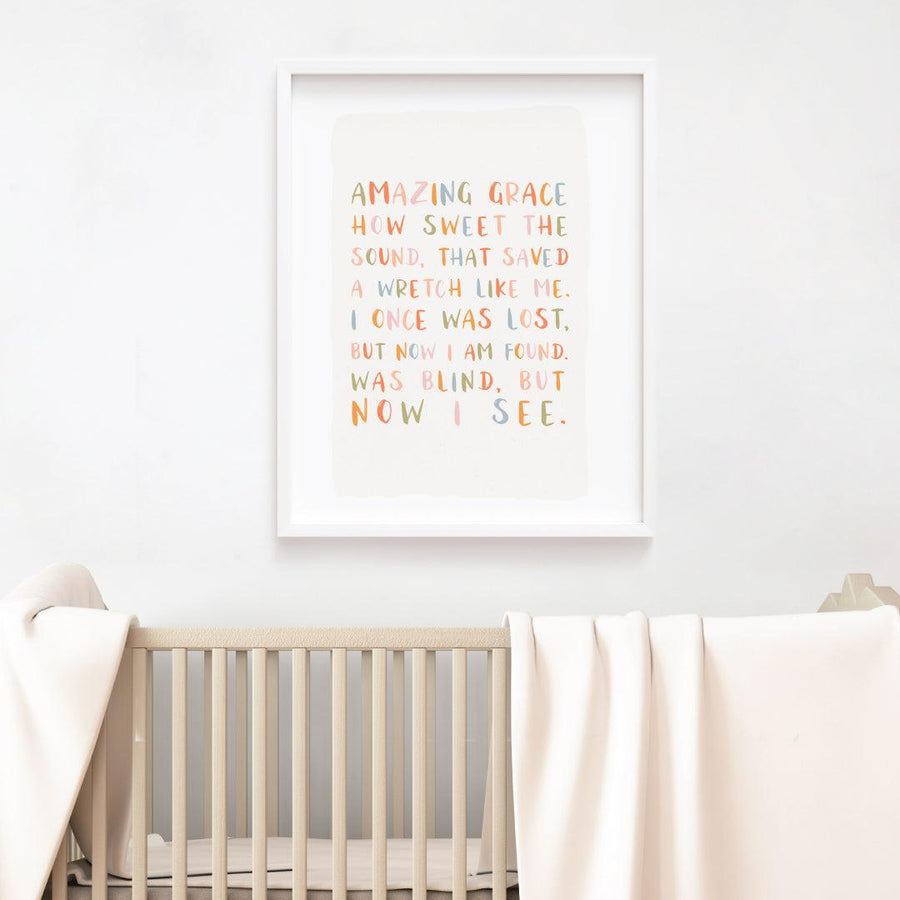 Amazing Grace Fine Art Print - The Everyday Mother