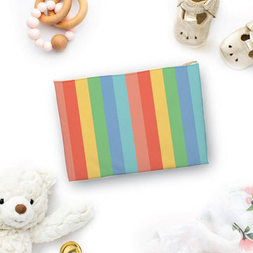 Colorful Stripes Pouch - The Everyday Mother