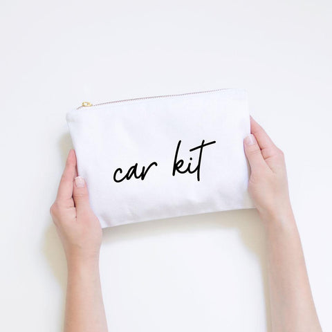 Car Kit Pouch