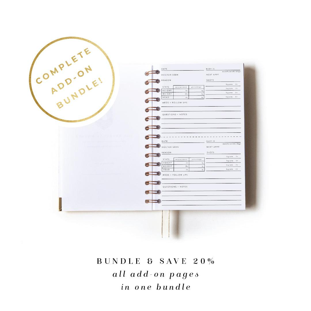 Complete Bundle: All Add-On Pages for The Everyday Mother