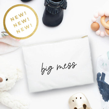 BIG MESS POUCH FOR DIAPER BAGS AND CHANGE OF CLOTHES - The Everyday Mother