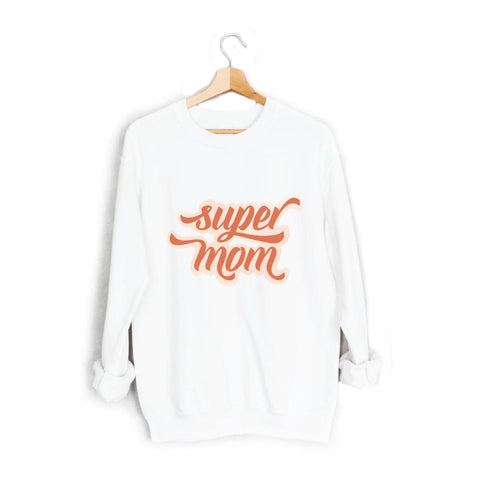 Super Mom Retro Sweatshirt