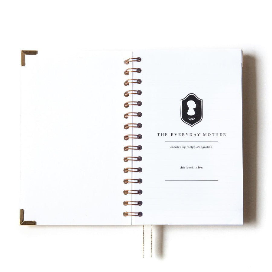 LIMITED EDITION - Sarah Coey Art x Everyday Mother: Original 6 Month Tracker Book