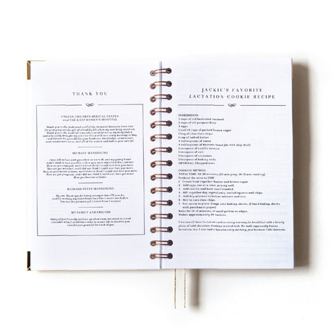 Kristen Smith x Everyday Mother: Original 6 Month Tracker Book (Limited Edition)