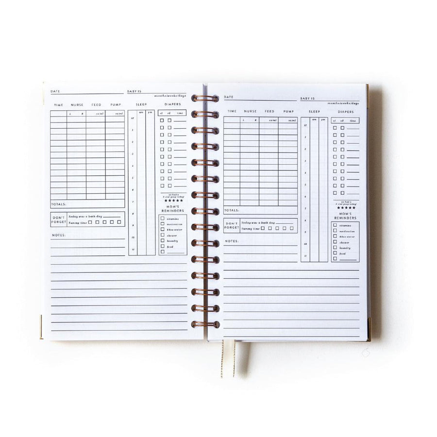 Christy Hy Lee x Everyday Mother: Original 6 Month Tracker Book (Limited Edition) - The Everyday Mother