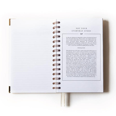 Anee Shah x Everyday Mother: Original 6 Month Tracker Book (Limited Edition) SHIPS NOW