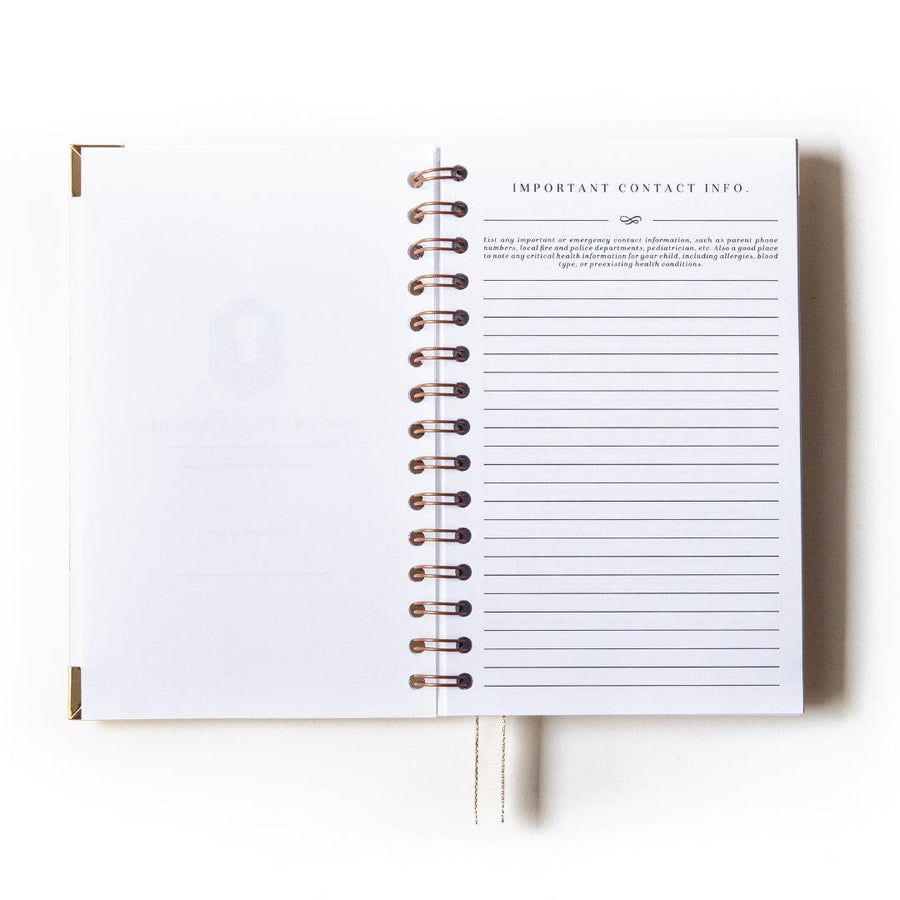 Paper Raven Co. x Everyday Mother: Original 6 Month Tracker Book (Limited Edition)