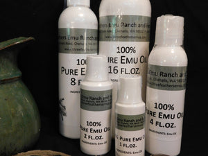Emu Oil Composition
