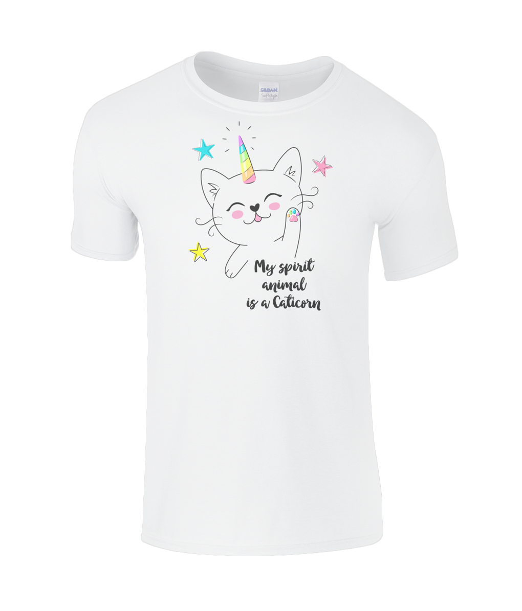 Kids Caticorn SoftStyle®  Tee