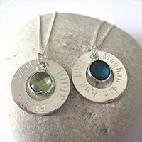 Eternity Necklace - Birthstone