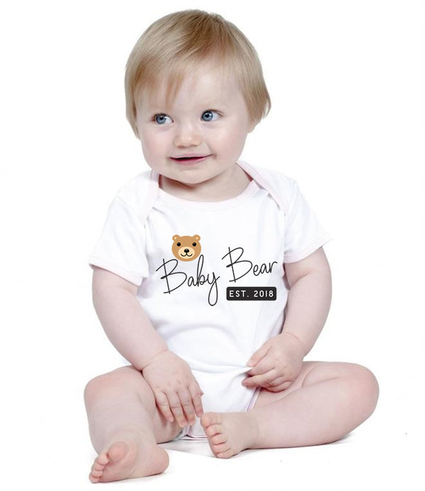 Baby Bear Personalised Bodysuit