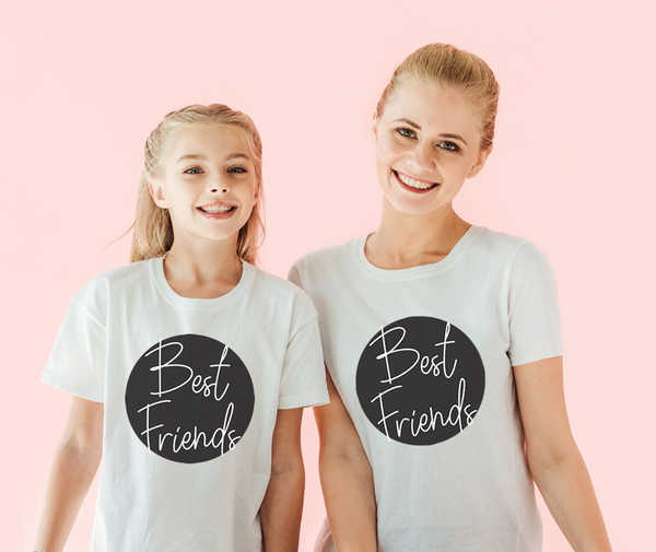 Mother & Child Best Friends Tees