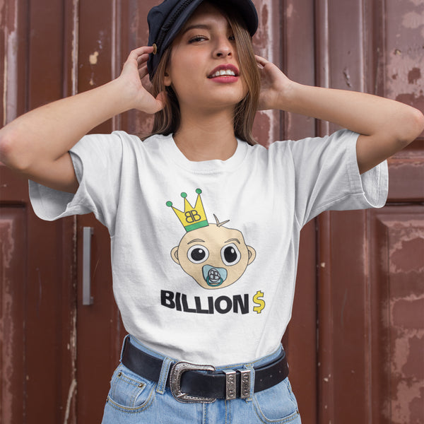 Your Personalised Initial Billion Brand Baby Dollar Unisex Tee