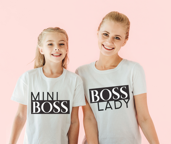 Lady & Mini Boss Tees