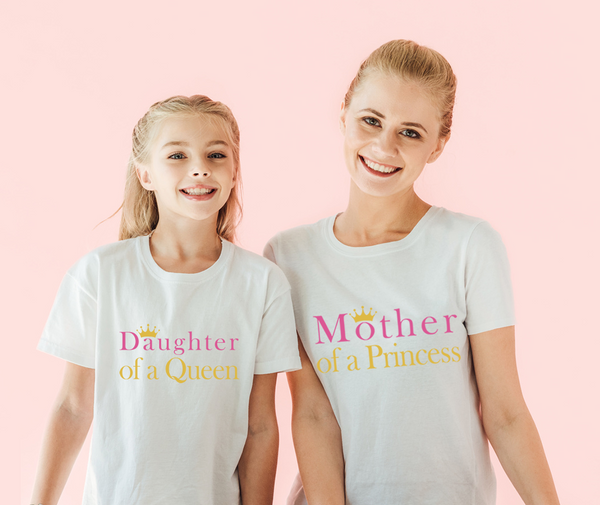 Queen and Princess Matching Tees