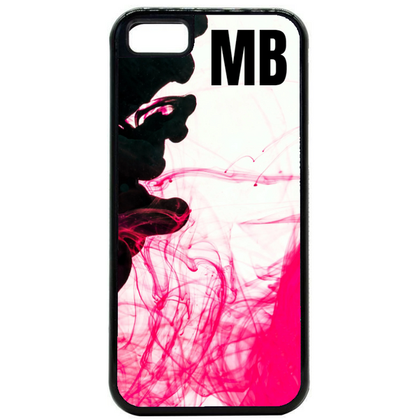 Initial Personalised Splash Art Phone Case