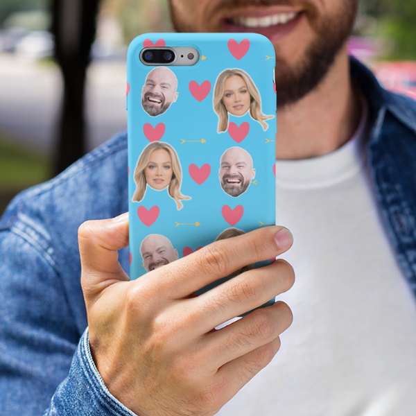 Loved Up Personalised Photos Phone Case