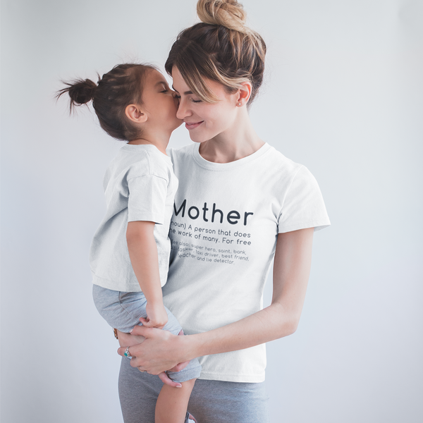 Mother Meaning Personalised Definition T-Shirt