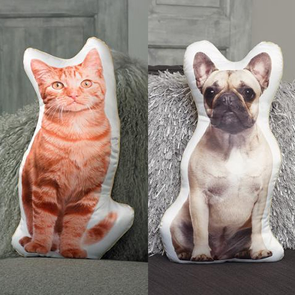 My Cutout Pet Custom Shape Cushion