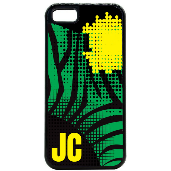 Initial Zebra Pop Art Phone Case