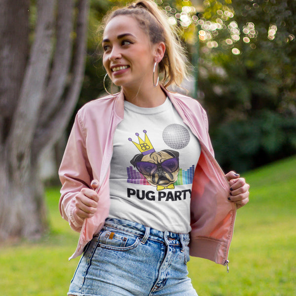 Your Personalised Initial Billion Brand Pug Party Unisex Tee