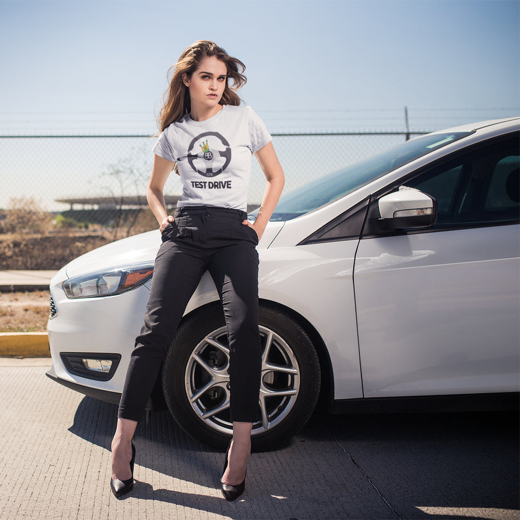 Your Personalised Initial Billion Brand Test Drive Unisex Tee