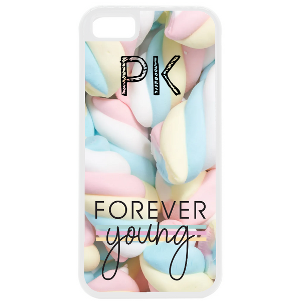 Initial Forever Young Phone Case