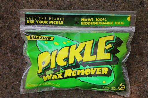 Amazing Pickle Wax Remover complete with Mr. Zog's Sex comb and Pickle Sticker