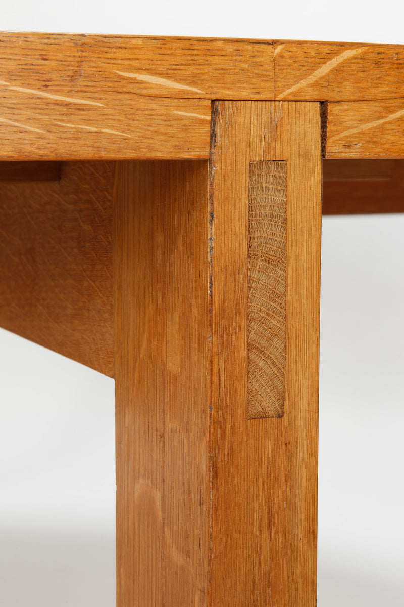 Werner Blaser Dining Table, Ernst Nielsen, 60s